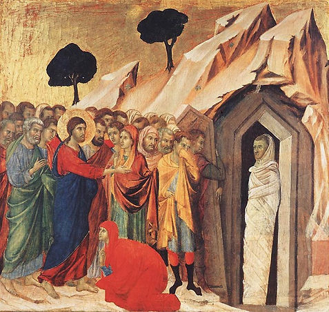 Résurrection de Lazare Giotto