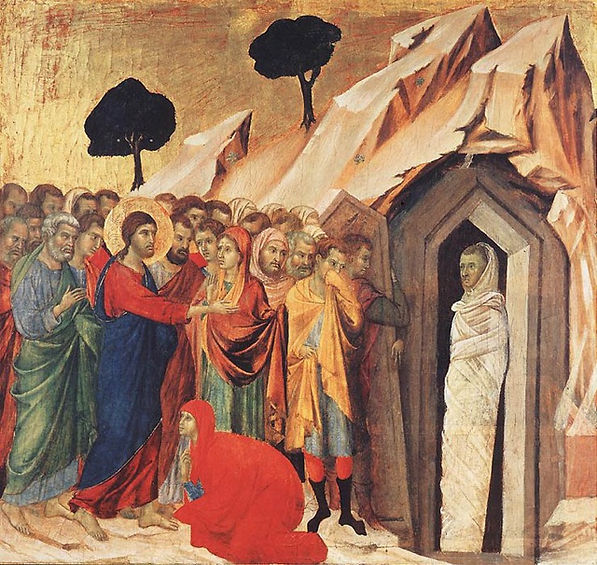 Résurrection de Lazare Giotto