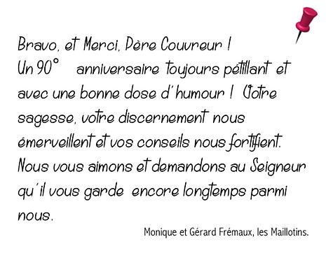 MC MONIQUE GERARD FREMAUX
