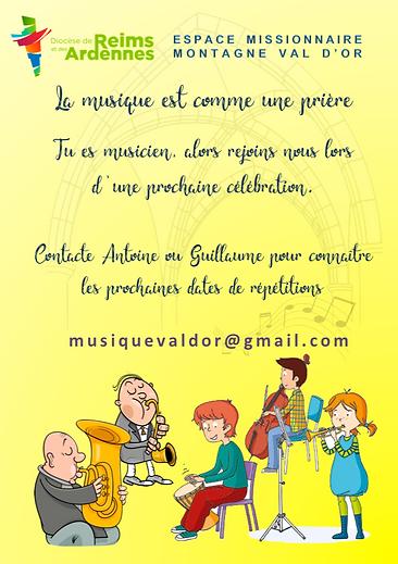 MUSICIENS DE NOS PAROISSES