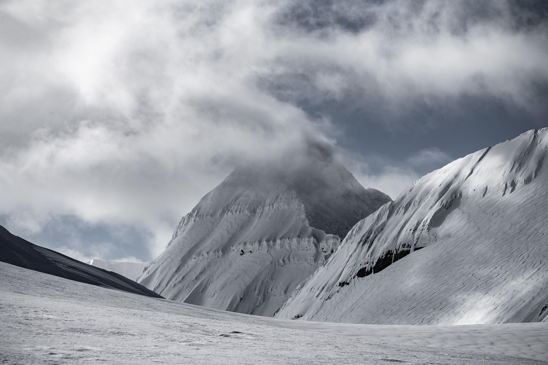 Unclimbed Peak Svalbard