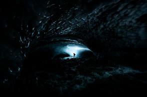 Ice cave BMX