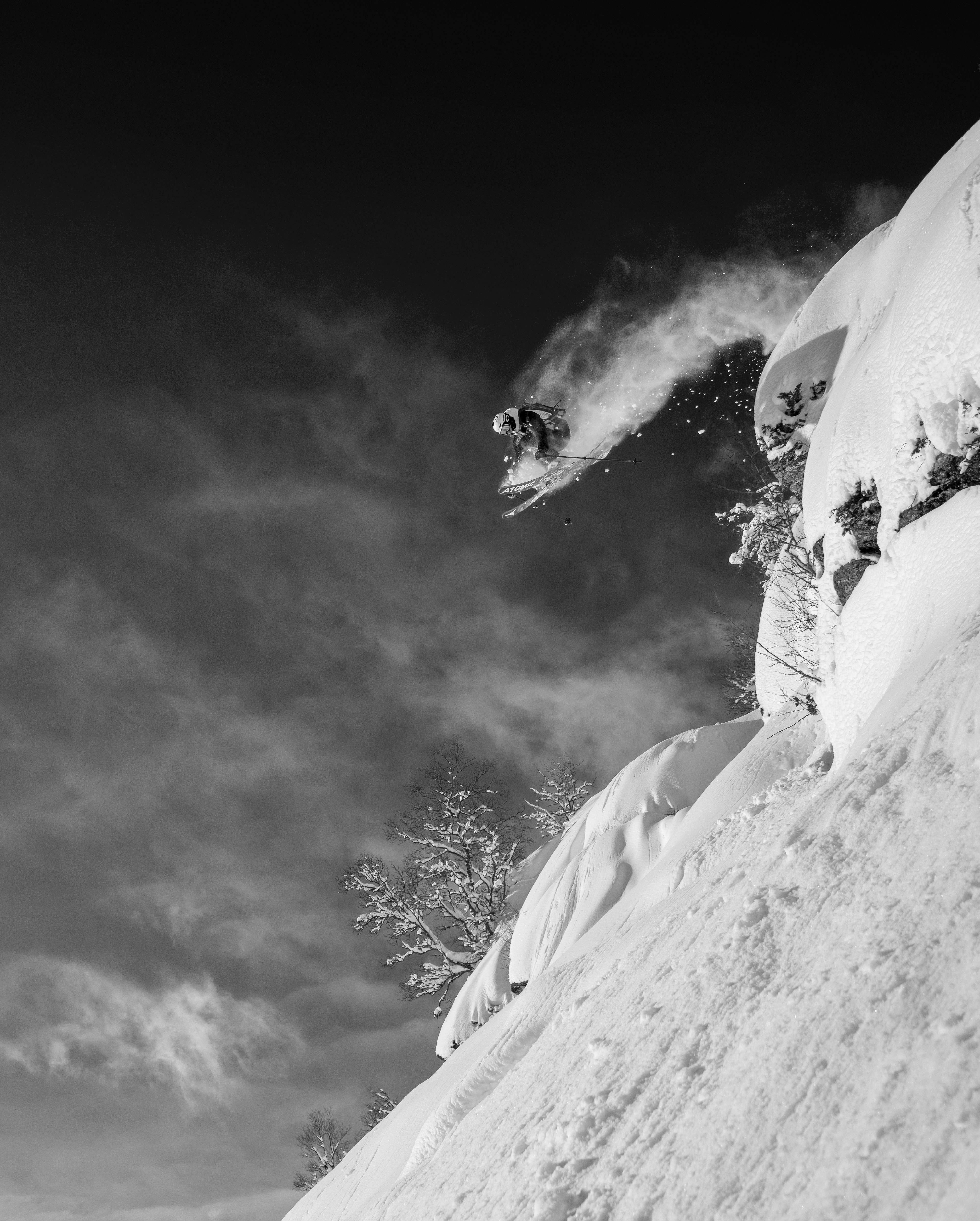 Skiing at Sogn Skisenter