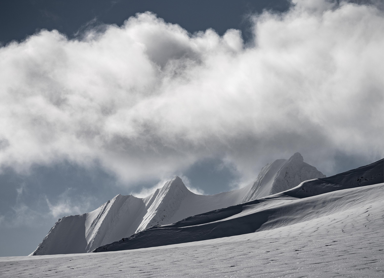 Unclimbed Ridge Svalbard