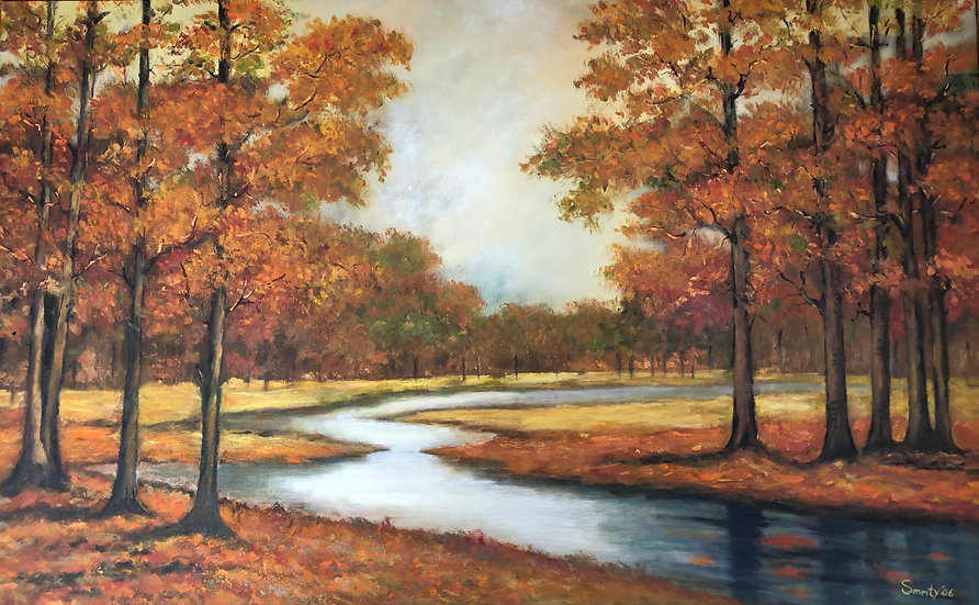 Large Fall Painting