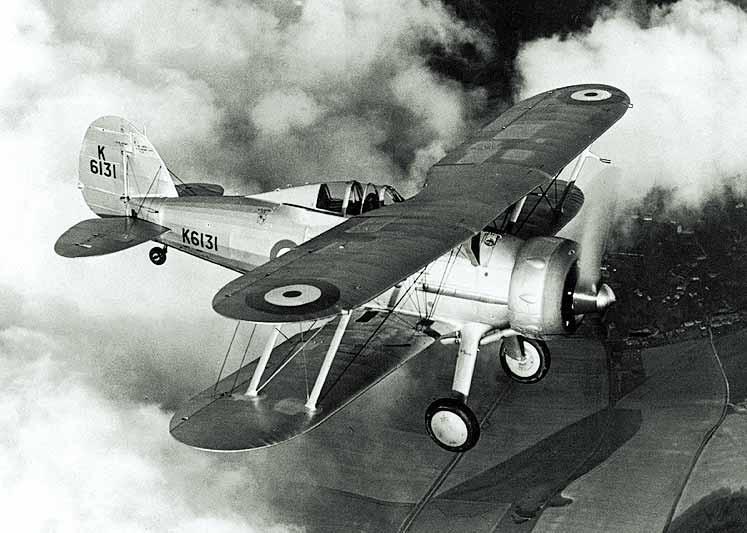 Gloster Gladiator plane