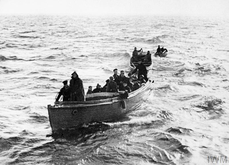 Dunkirk 1940, Three of the armada of 'little ships' which brought the men of the BEF from the shores in and around Dunkirk