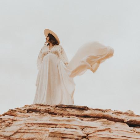 Sunrise Mama // Desert Maternity Film