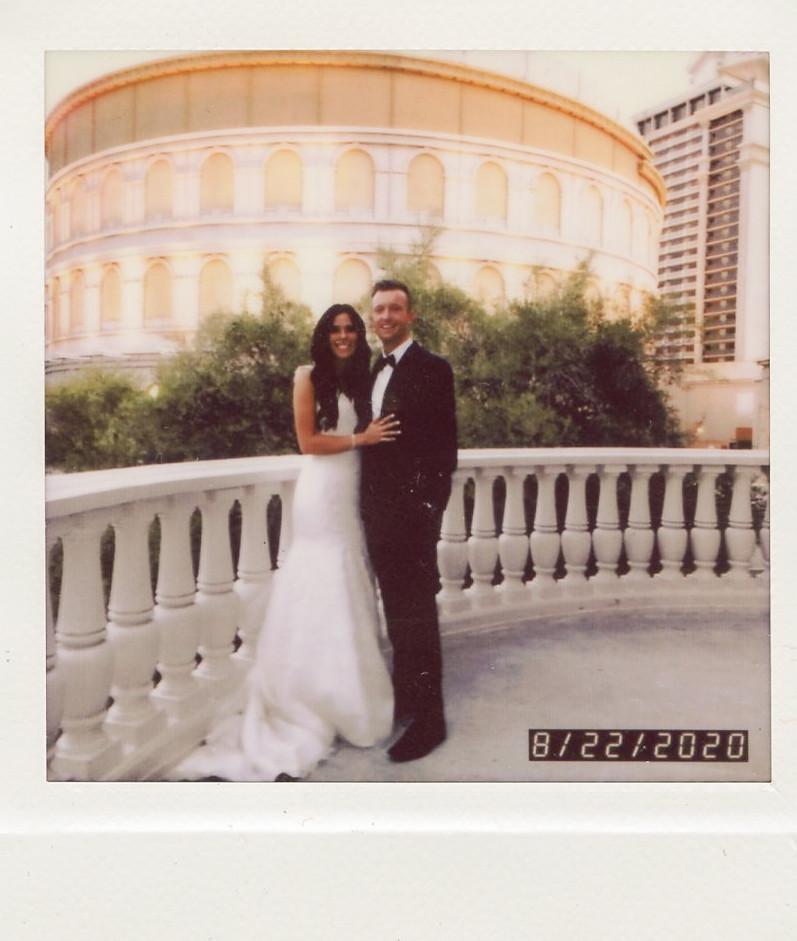 Kate & Kyle Lake Las Vegas Wedding