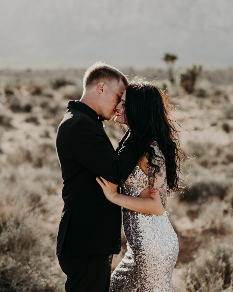 Rock and Roll vegas elopement