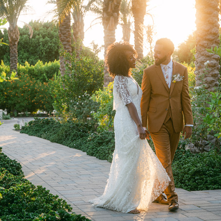 Palm Springs Intimate Wedding at Old Polo Estate