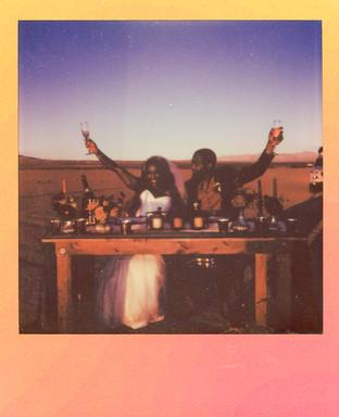 Yaqar & Romero Las Vegas Elopement