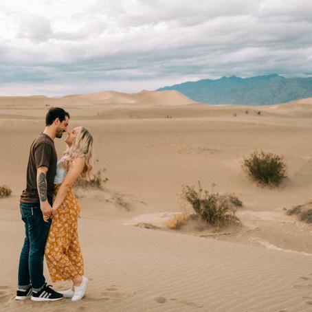 Death Valley Anniversary Session \\ Las Vegas Wedding Photographers