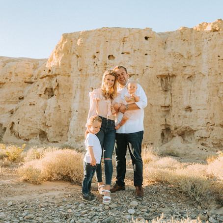 The Leavitts in Tule Springs | Las Vegas Family Photographer