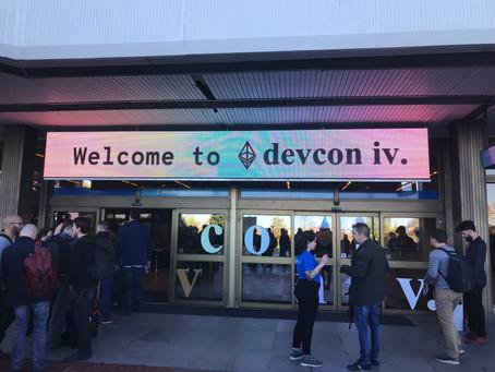 Ethereum DEVCON4に行ってきました