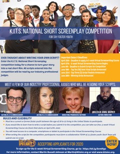 KITS Launches Nationwide Screenplay Competition for Foster Youth