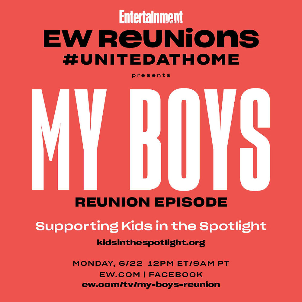 """My Boys"" Reunion Episode supporting KITS"