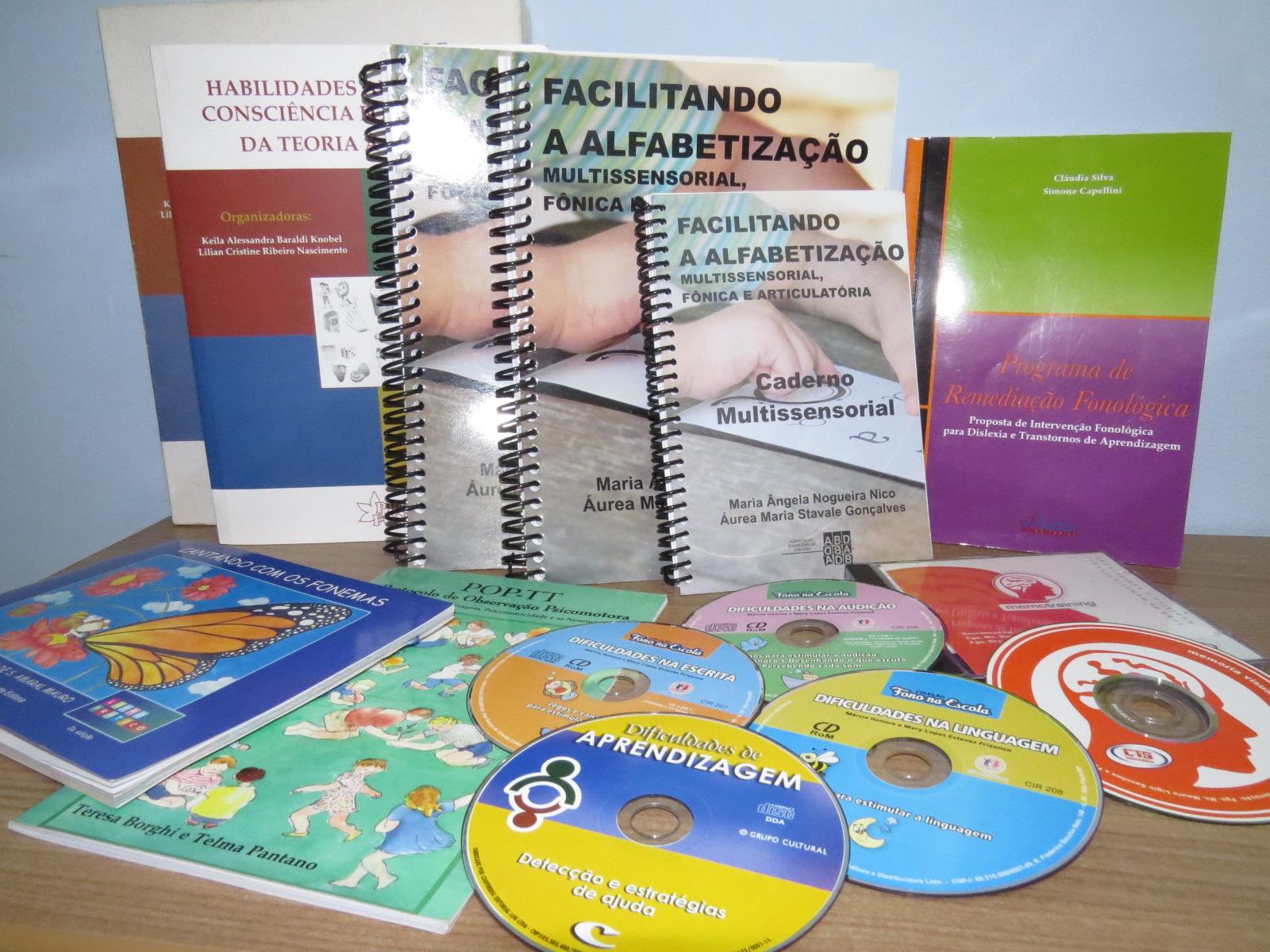 Softwares e materias específicos