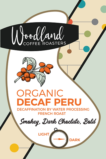 Organic Decaf French Peru