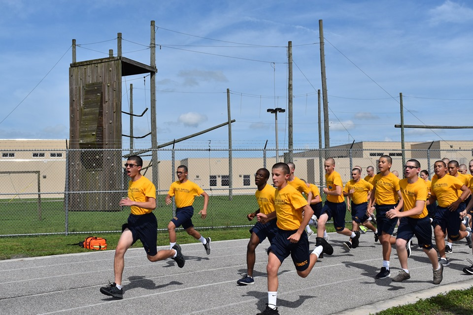 Recruit Training at Belle Glade