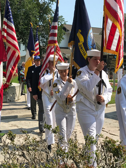 Color Guard on Memorial Day