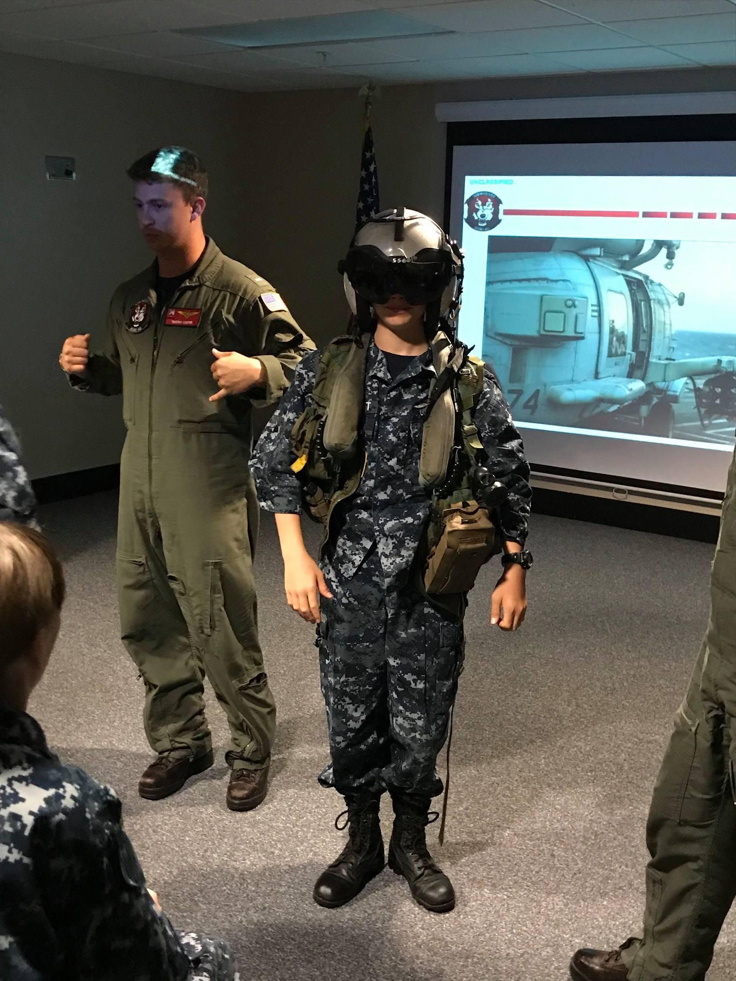 Drill at Mayport Naval Station