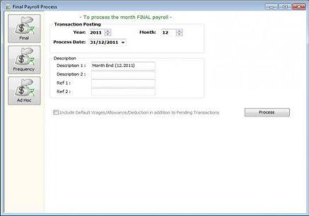 SQL Payroll ScreenShot