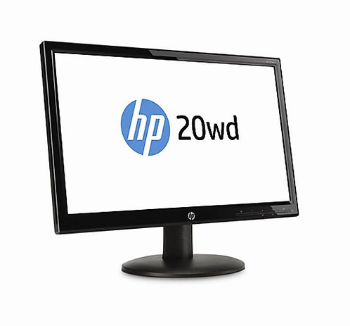 HP 20wd 19.45inch LED Backlit Monitor SING