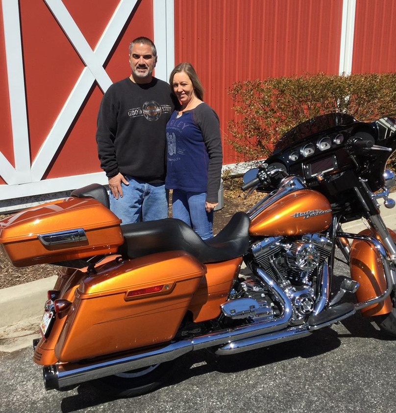 2014 FLHX Street Glide Special owned by Rob & Lisa