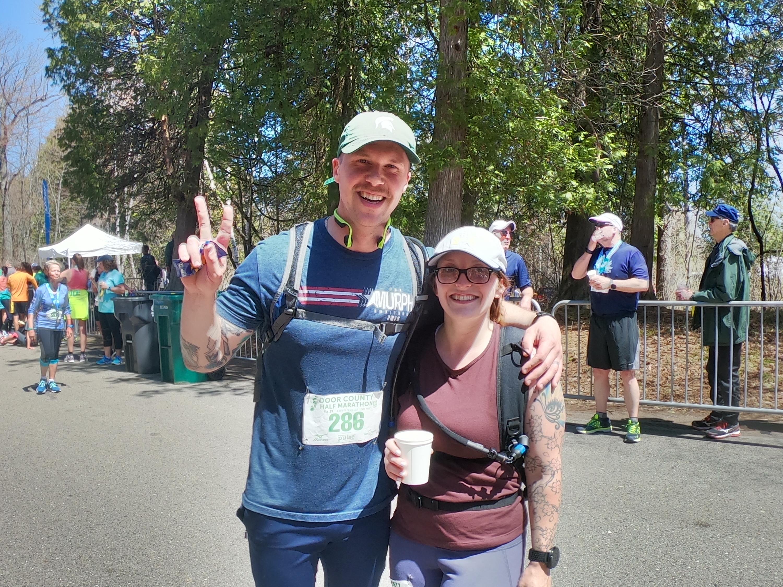 Post-half marathon