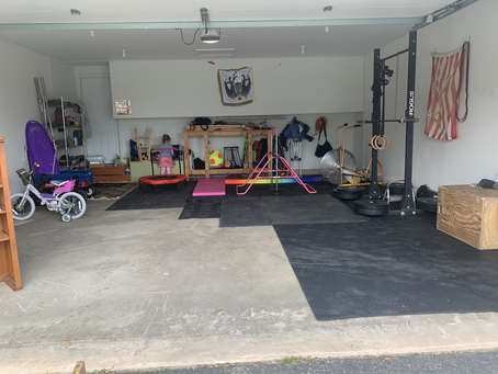 Garage Gym: Wishlist vs. Real Life