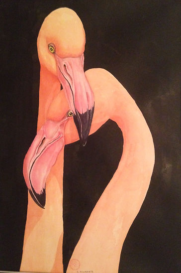 Flamingos, Watercolor.jpg