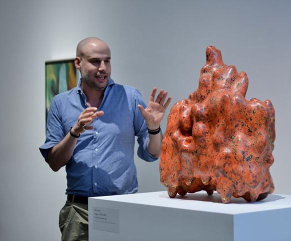 Ariel Plotek - Ken Price Sculpture, O'Keeffe Museum