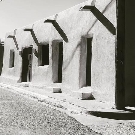 Alto Street, Santa Fe, New Mexico