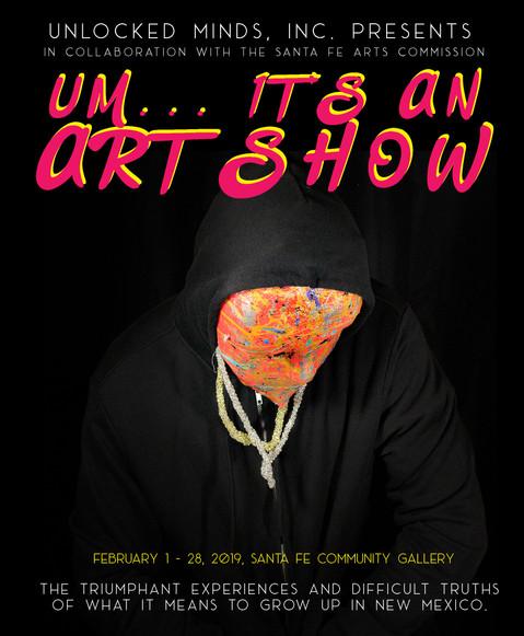 UM... It's an Art Show Exhibition Program