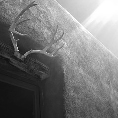 Antlers Over Door - Abiquiu New Mexico