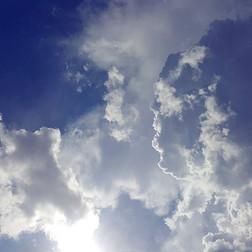 Sky Before Storm, Santa Fe, New Mexico