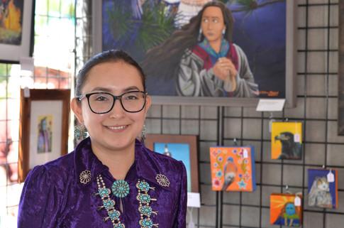 Santa Fe Indian Market Artist