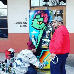 Graffiti Artists, Santa Fe Community Gallery