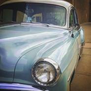 Vintage Car, Santa Fe, New Mexico