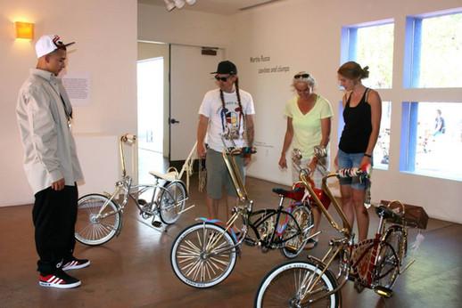 Native Kids Ride Bikes with Artist Dylan Miner, Martha Scott, and Joel Davis