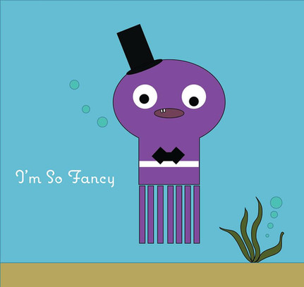 I'm So Fancy Cartoon