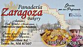 Panaderia Zaragoza Bakery Santa Fe, NM