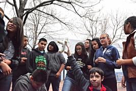 DeVargas Middle School Field Trip