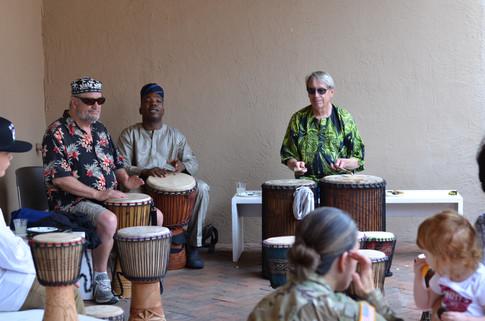 Summer Program Drum Circle