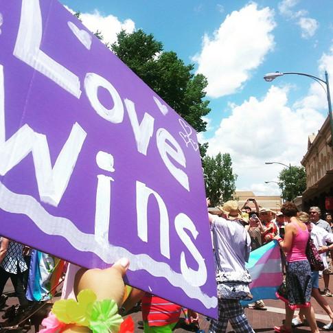 Pride Parade, Love Wins