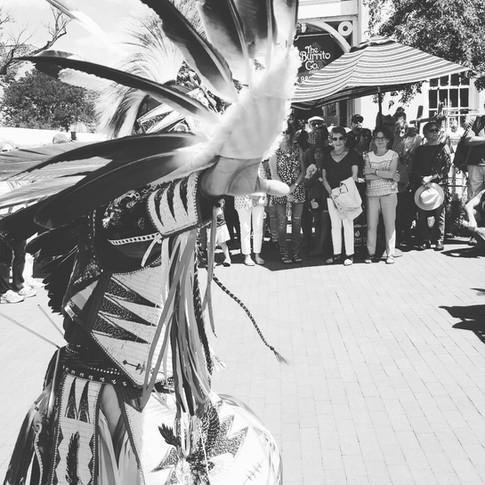 Santa Fe Indian Market - Eagle Dance