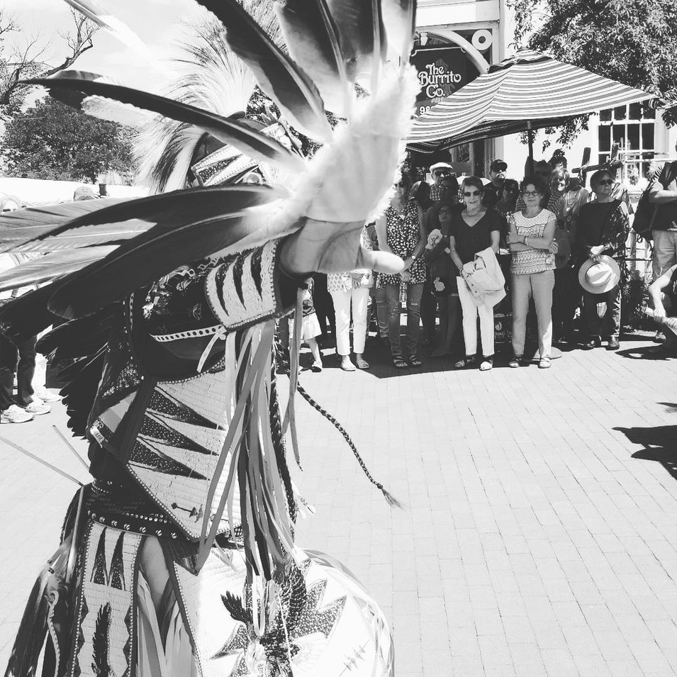 Santa Fe Indian Market - Eagle Dance