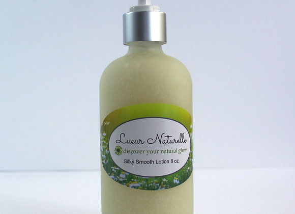 Silky Smooth Skin Lotion 8 oz All-Natural 100% Organic