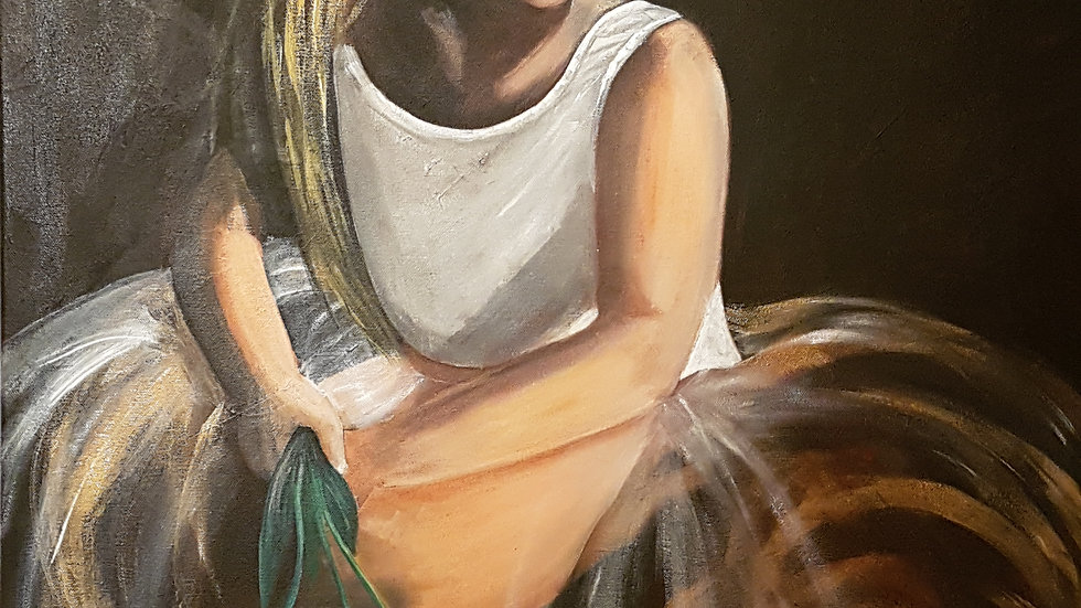 After The Dance - Acrylic on Canvas 24 x 36